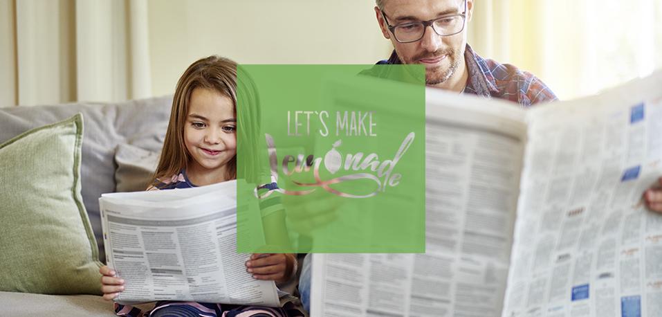 Let's Make Lemonade: Headerbild - Print und Corona