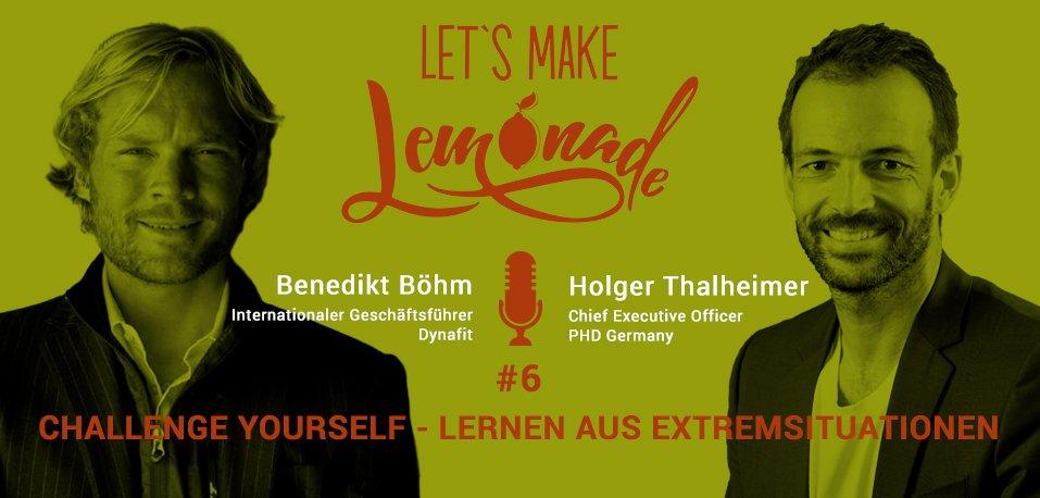 Let's Make Lemonade: Podcast 6 - Headerbild