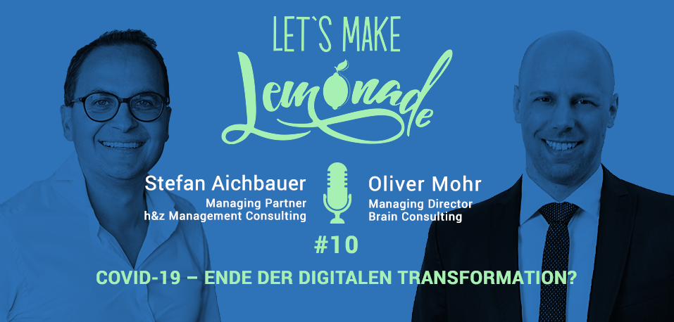 Let's Make Lemonade: Podcast 10 - Header