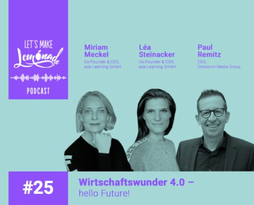 Let's Make Lemonade Podcast 25 - Vorschau