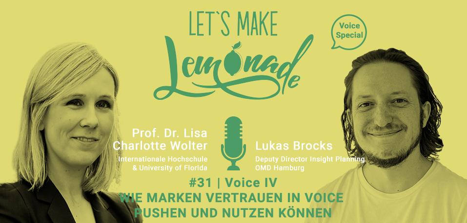 Let's Make Lemonade: Podcast 31